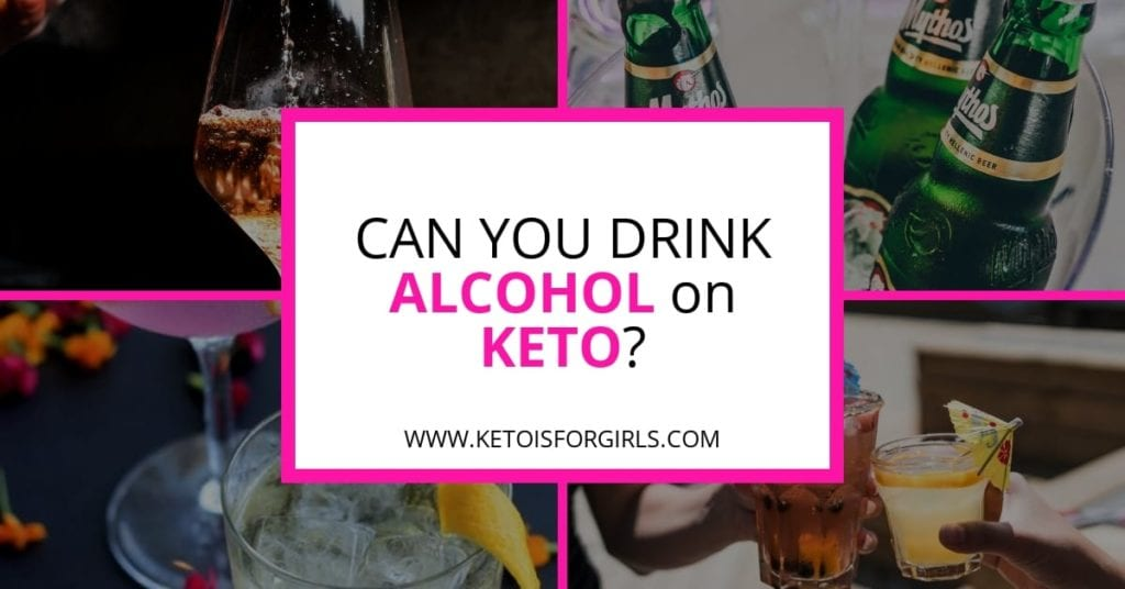 alcohol on keto