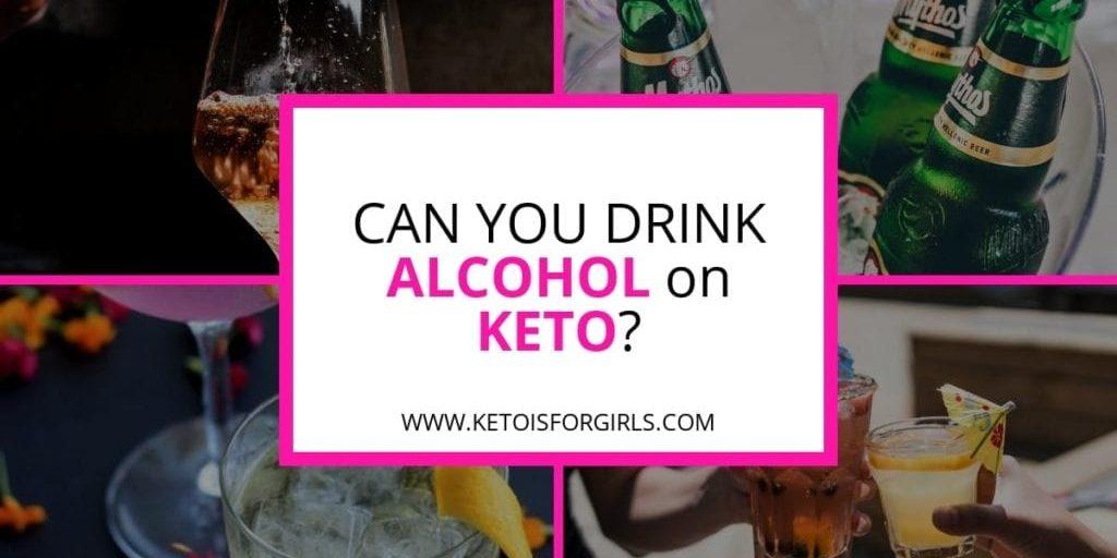 alcohol on keto